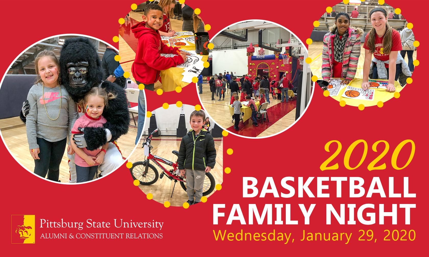 Basketball Family Night 2020