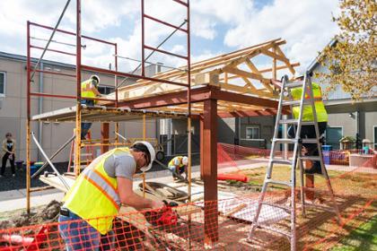 Construction sandbox